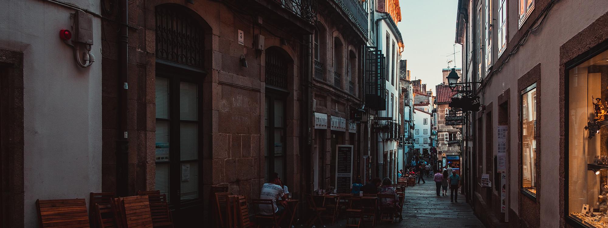 Streets in Santiago