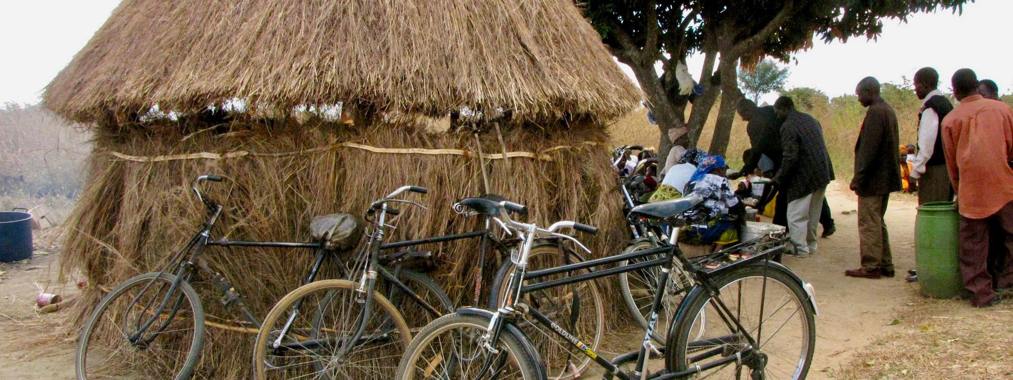 Hut and Bicycles