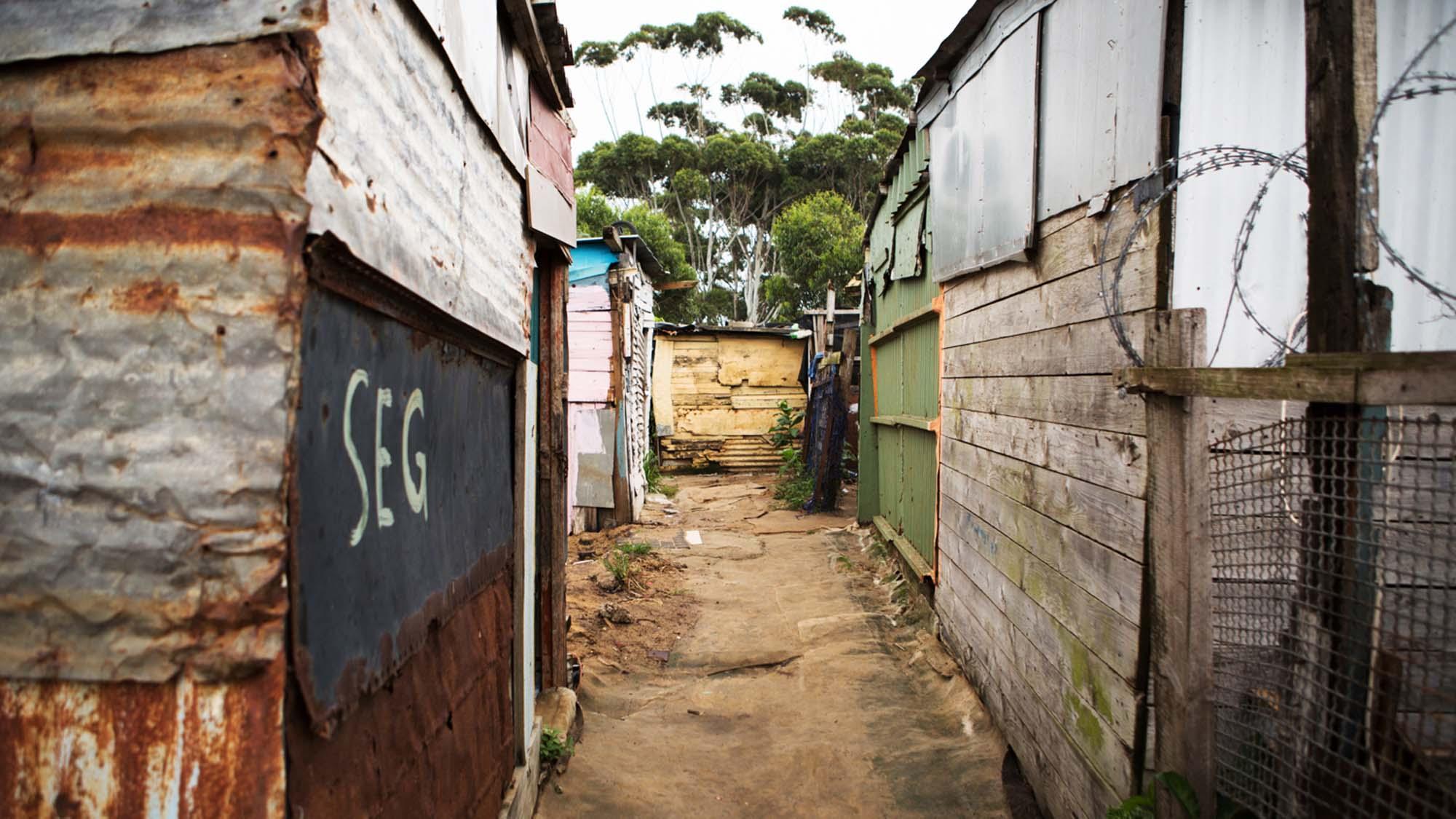 image of poor community